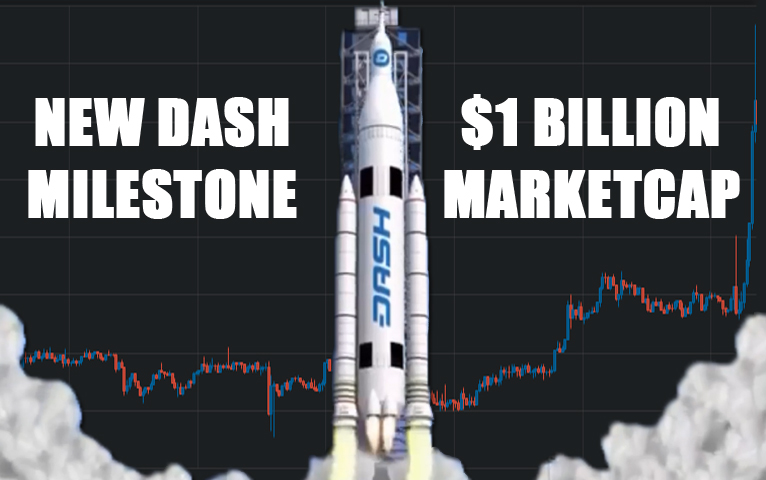 Dash Passes $1 Billion Market Cap