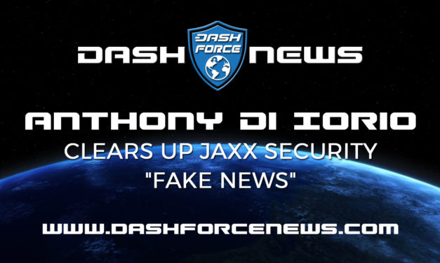 """Anthony Di Iorio Clears Up Jaxx Security """"Fake News"""""""