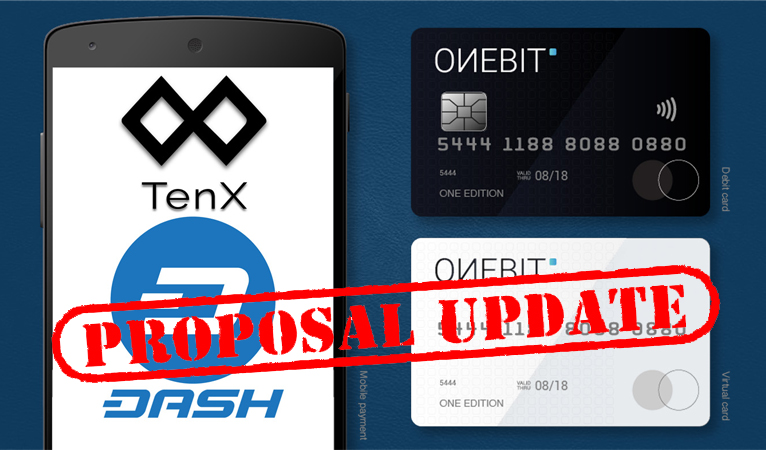 TenX Dash Debit Card – Slipping Dates Proposal Update