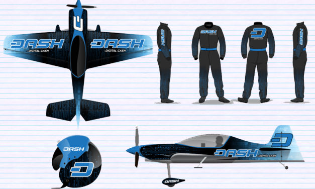 """Dash Gets Its Own """"Air Force,"""" Sponsors Airshow Team"""