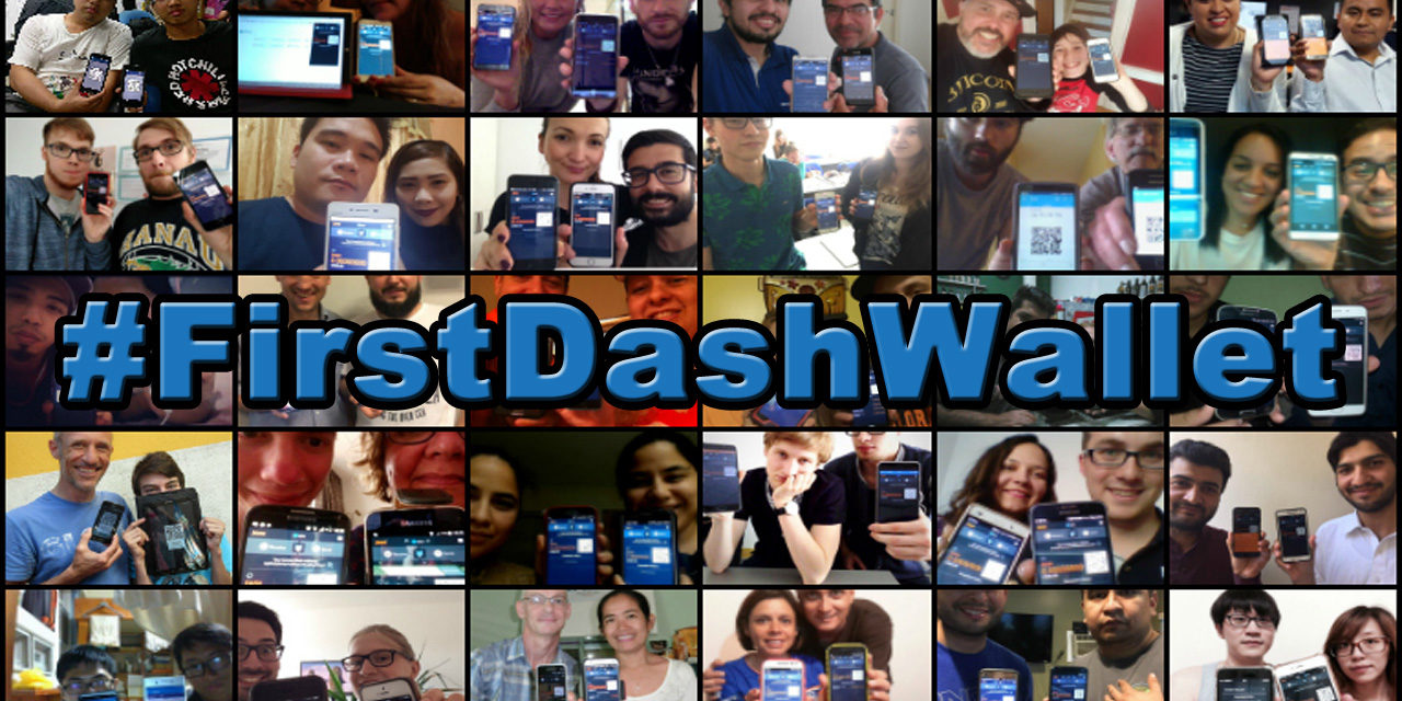 #FirstDashWallet Brings Scores of New Users to Dash