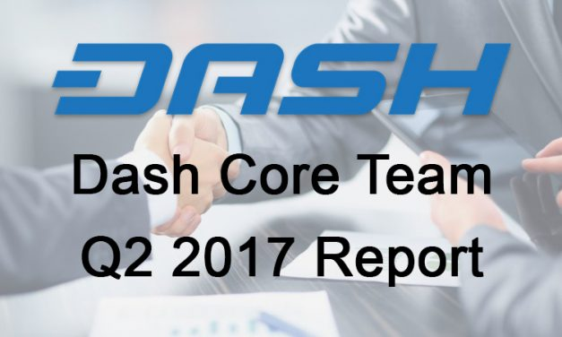 My Big Takeaways from Dash Core Team Q2 Conference Call