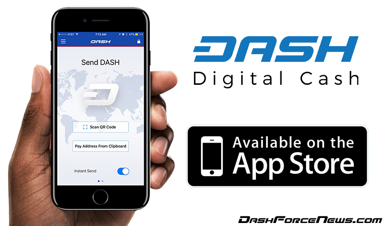 Dash oficialmente aprovado pela Apple, lança sua carteira para iPhone com a opção de envio instantâneo