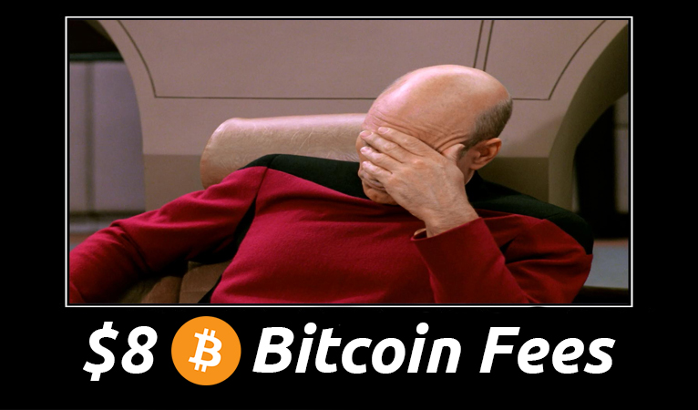 Bitcoin Fees Reach $8 Post Segwit Activation