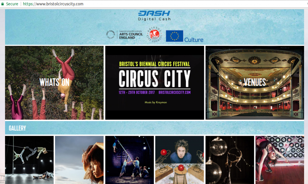 Circus City - sponsored by Dash