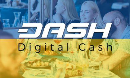 Dash in ukrainischem Restaurant akzeptiert – Integration in den Einzelhandel gestartet