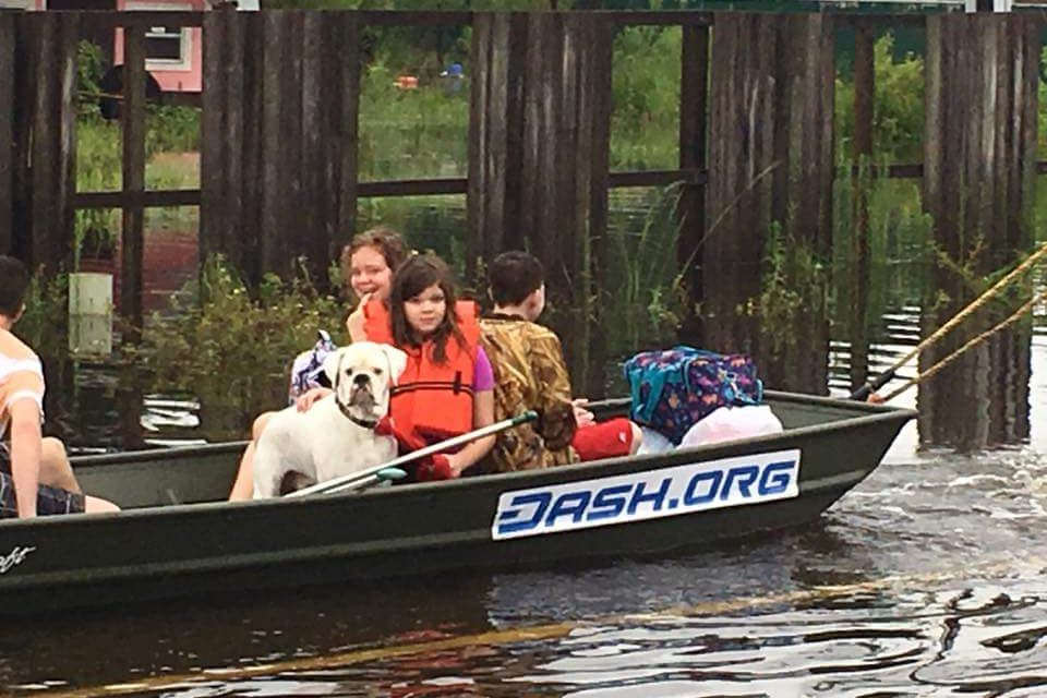 Dash Leads Texas Hurricane Relief With Crypto Donation Drive, Dash Rescue Boat