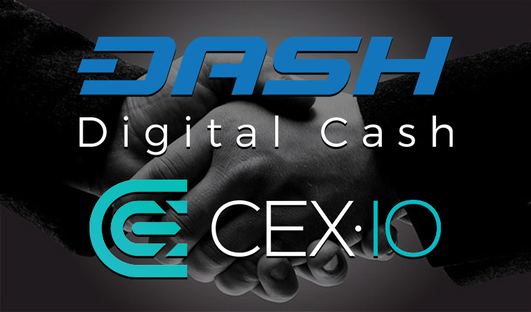 Dash/Fiat Trading Pairs Added to CEX.io Exchange
