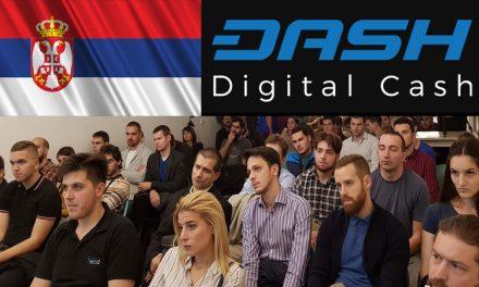 Первая Dash презентация в Сербии привлекла рекордное число участников