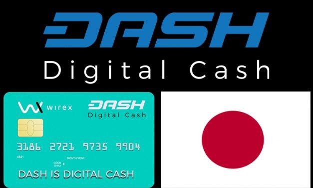 Des cartes bancaires Dash au Japon grâce à la joint venture Wirex-SBI