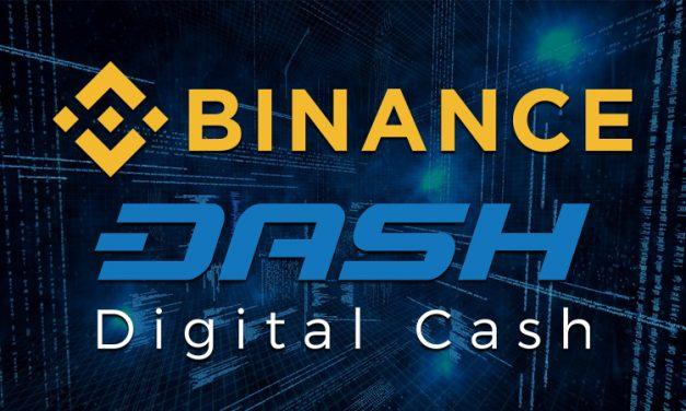 Binance fügt Dash Trading Pair hinzu