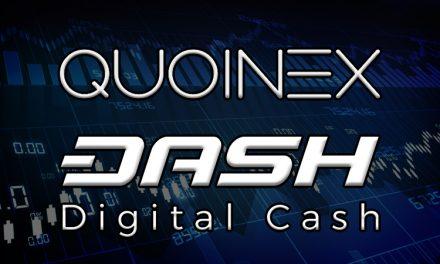 Dash erweitert seine Präsenz in den asiatischen Märkten durch Hinzufügung zu Quoinex