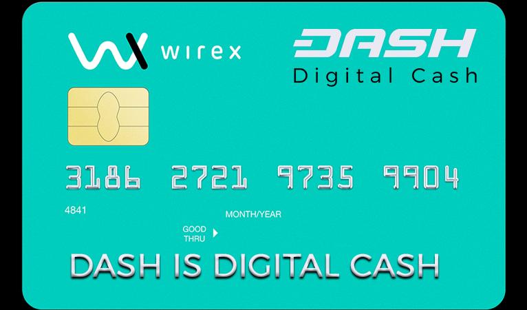Wirex kündigt Zusammenarbeit mit Dash und neue kontaktlose Karten an
