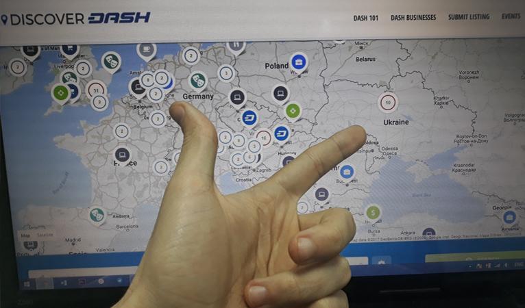 A Kiev, 10 nouveaux restaurants acceptent le dash
