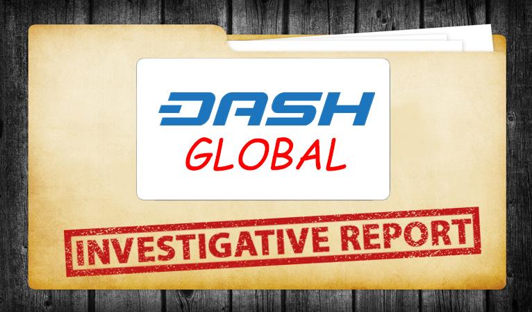 Расследование, связанное с Dash Global News