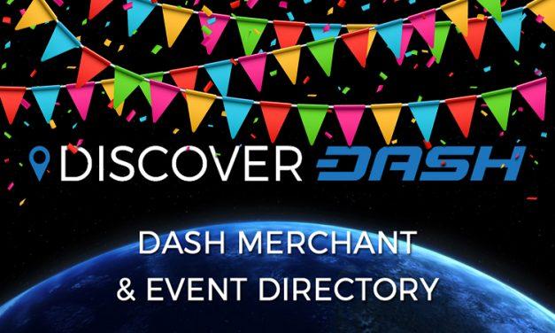 DiscoverDash führt über 500 Händlern, die Dash akzeptieren
