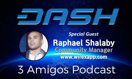 3 Amigos Podcast E28 Feat. Raphael Shalaby Wirex Community Manager