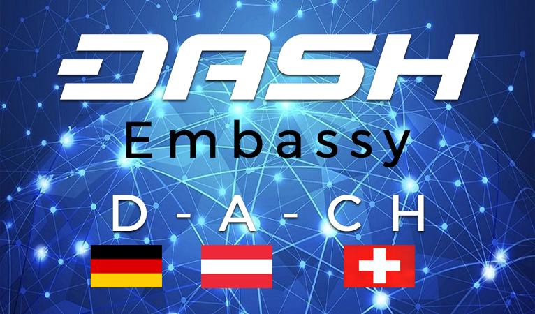 Dash sponsert Botschaft in den deutschsprachigen Ländern