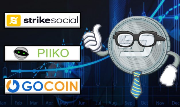 Dash Integrates With GoCoin Online Payments, Strike Social, and Piiko Mobile Topups