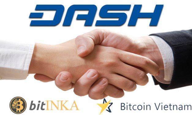 BitINKA et Bitcoin.vn acceptent Dash