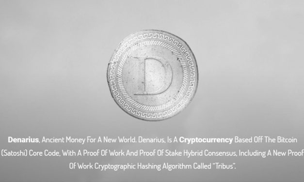 Denarius, the Next New Payment Coin?