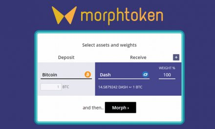 MorphToken Instant Exchange Service Adds Dash