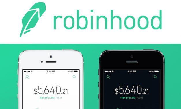 O App Robinhood Competirá com a Coinbase e Adicionará Dash