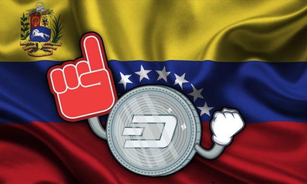 Dash Dispara na Venezuela com 80 Novos Comerciantes, 2 200 Participantes nas Conferências e Duas Novas Casas de Câmbio