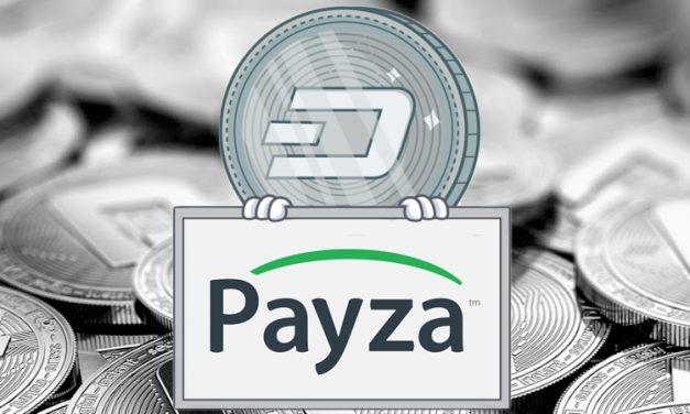 Dash est intégré à Payza avec ses 100 000 marchands, et offre 10 à 15% de Dash supplémentaires