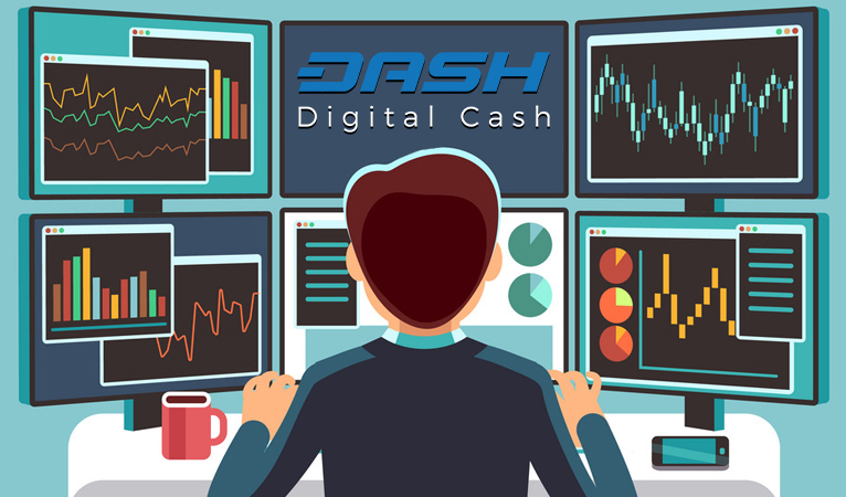 DASH Masternode illustration potential to earn really high numbers from passive income crypto