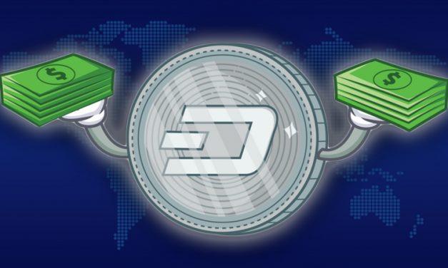 Dash a été ajouté à BACE, CoinSwitch et Styx24