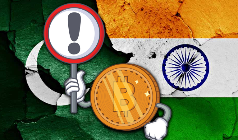 Central Banks of India and Pakistan Crack Down on Banks using Cryptocurrencies