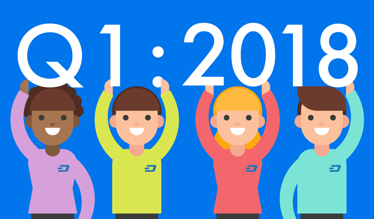 Dash Claims Over 23 New Integrations, Dozens of New Partnerships in Q1 2018