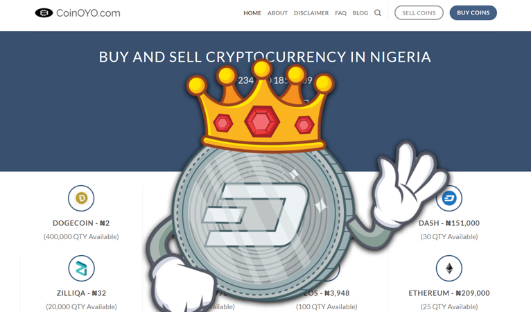 Gaining Traction in Developing World: Nigerian Exchange CoinOYO Adds Dash