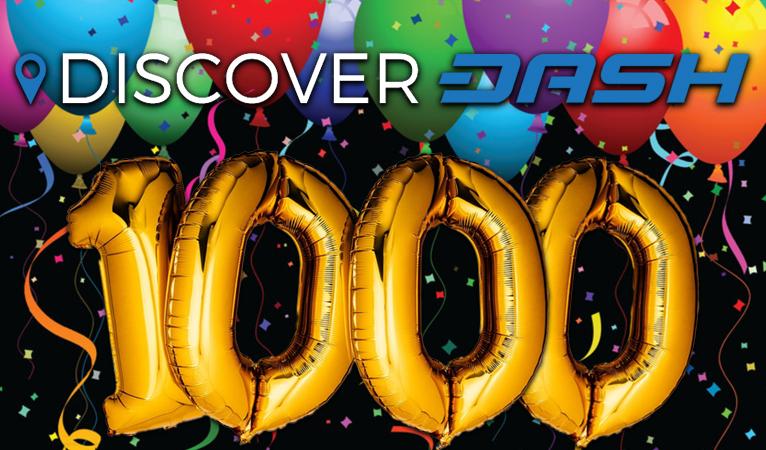 На сайте DiscoverDash представлен список из 1000 бизнесов, принимающих Dash