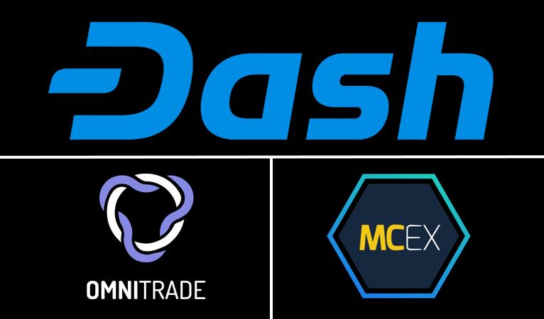 Miami Crypto Exchange e OmniTrade Incorporam a Dash