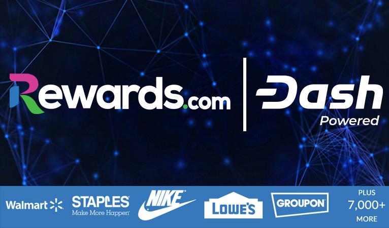 Rewards.com объявил о начале сотрудничества с Dash