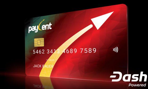 Paycent Adiciona Dash a Plataforma, com Câmbio e Cartão de Débito Simplificados