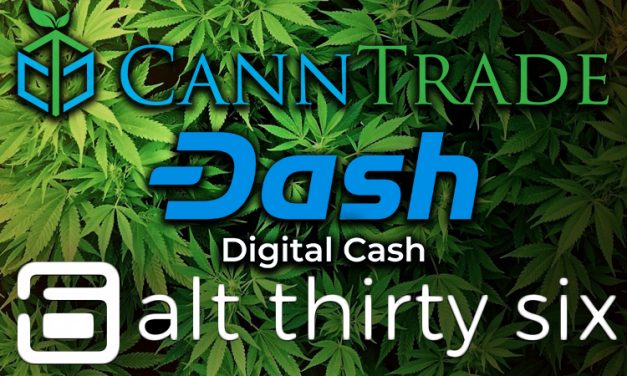 Dash-Based Merchant Platform, Alt Thirty Six, Partners with Cannabis Wholesale Platform, CannTrade