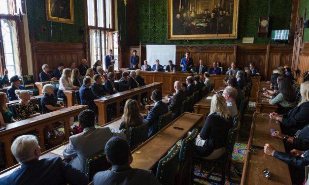 Blockchain speech at UK Houses of Parliament for Bahrain Opportunities Forum 2018