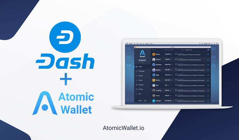 Atomic Wallet Integrates Dash