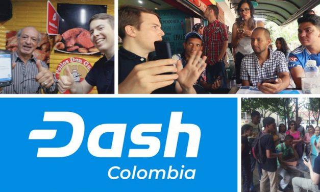 A Dash está Experimentando Rápida Adoção e Uso na Colômbia