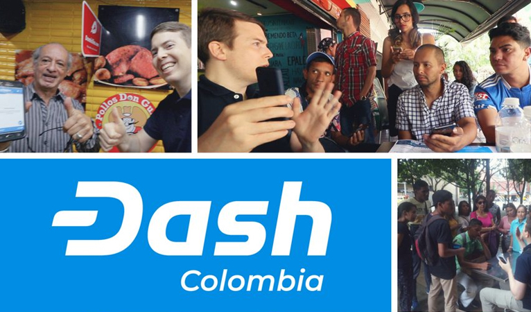Dash is Experiencing Rapid Adoption and Use in Colombia