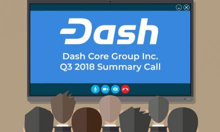 A retenir de la téléconférence du Dash Core Group T3