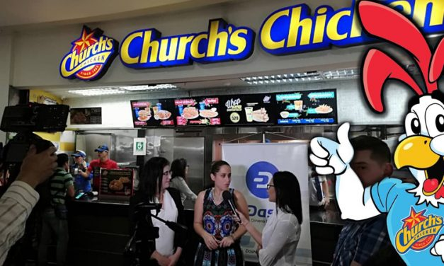 Сеть ресторанов Church's Chicken в Венесуэле начала принимать Dash