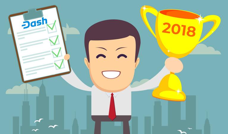 Dash Ganha 4 000+ Comerciantes, Dúzias de Integrações, Desenvolvimentos Históricos em 2018