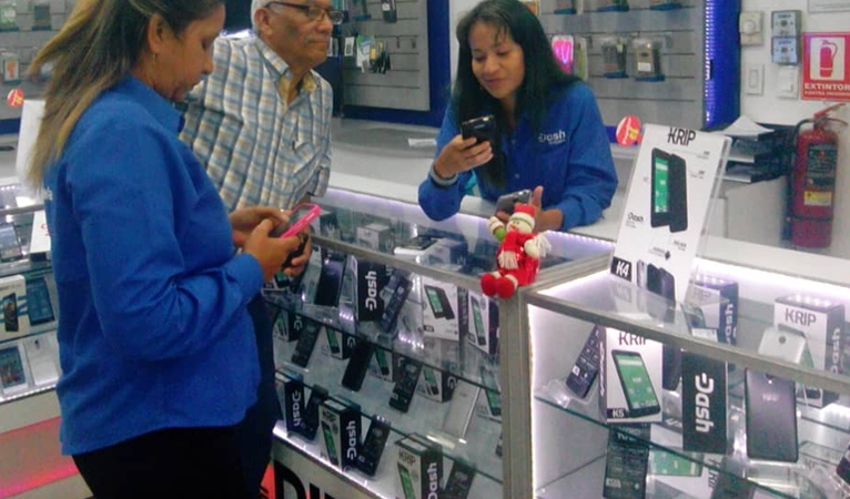 Thousands of Dash Enabled KRIP Phones Sold, Spurs Adoption In Venezuela