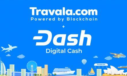 L'agence de voyage Travala accepte Dash comme moyen de paiement