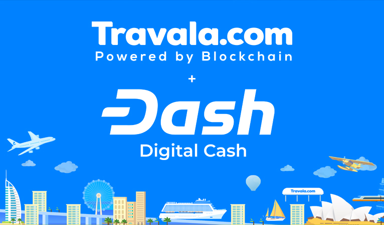 Der Reisebuchungsdienst Travala integriert Dash