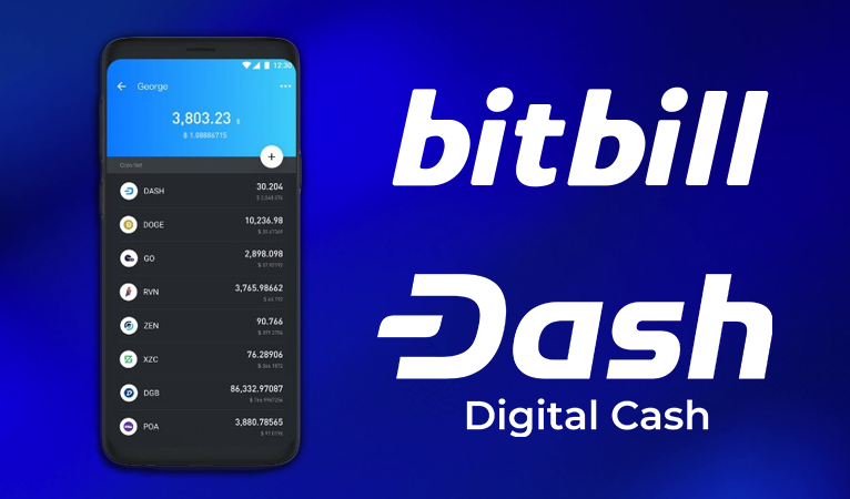 BitBill Integrates Dash into their Innovative Wallet